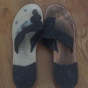 Jack Rogers Palm Beach flat sandals